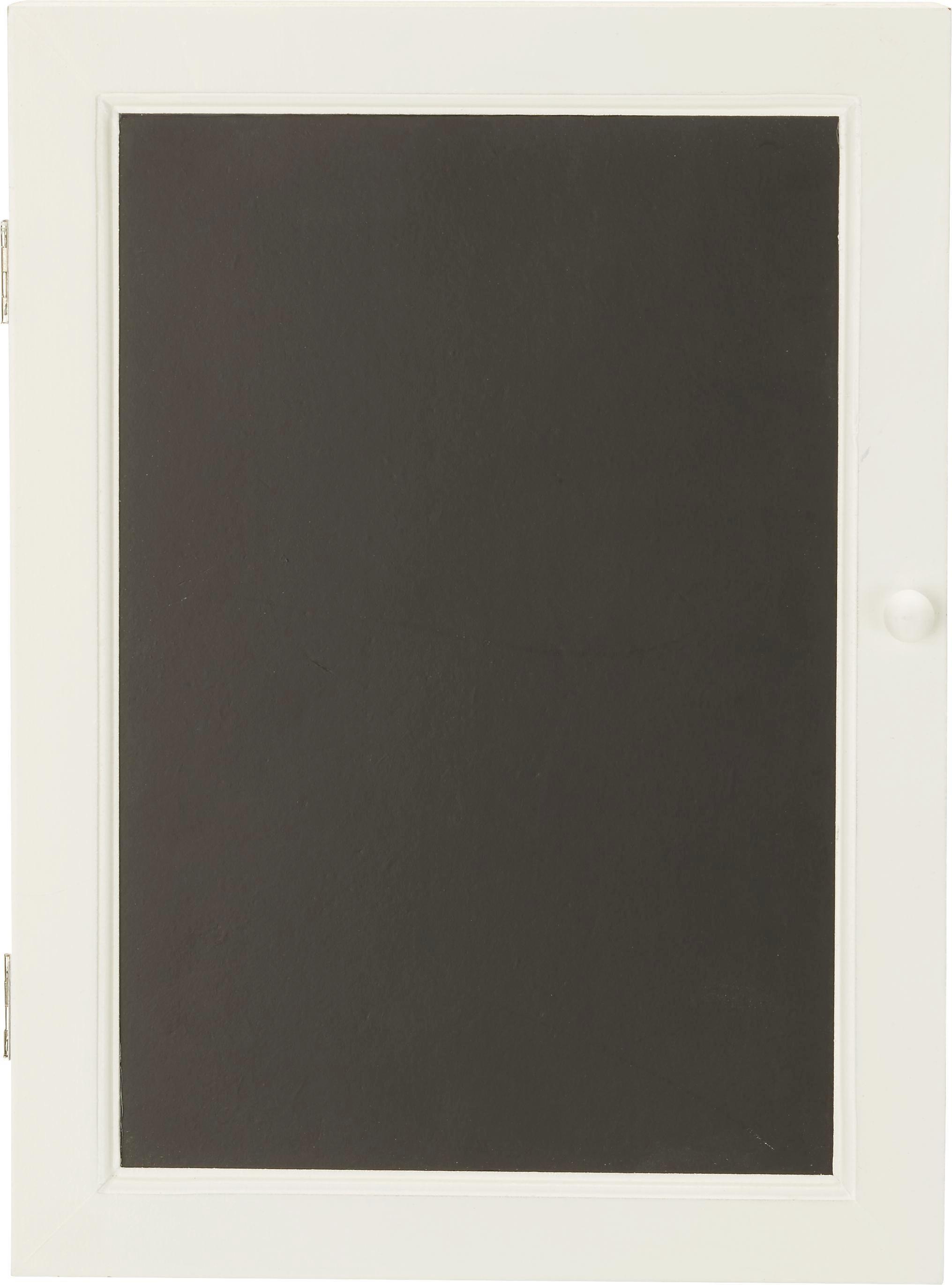 Schlüsselkasten in Weiß - Weiß, Holzwerkstoff/Metall (22/30/6cm) - MÖMAX modern living