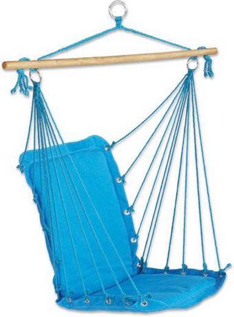 Függőszék Relax - Natúr/Olajkék, Textil (100/47cm) - Mömax modern living