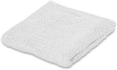Handtuch Carla Weiß - Weiß, Textil (50/80cm) - Based