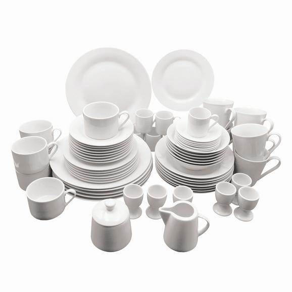 Serviciu De Masă Complet Lena- Eö - alb, ceramică - Mömax modern living