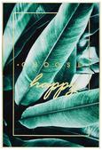 Slika Denise - črna/zlata, leseni material/tekstil (61,4/91,4/3,5cm) - Modern Living