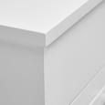 Kinderschminktisch Julien mit Spiegel - Weiß, MODERN, Glas/Kunststoff (37,6/81,3/32cm) - Mömax modern living
