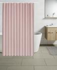 Zavjesa Za Tuš Uni - roza, tekstil (180/200cm) - Mömax modern living