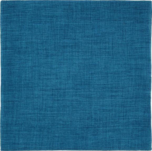 Párnahuzat Leinenoptik - Türkiz, konvencionális, Textil (40/40cm) - Mömax modern living