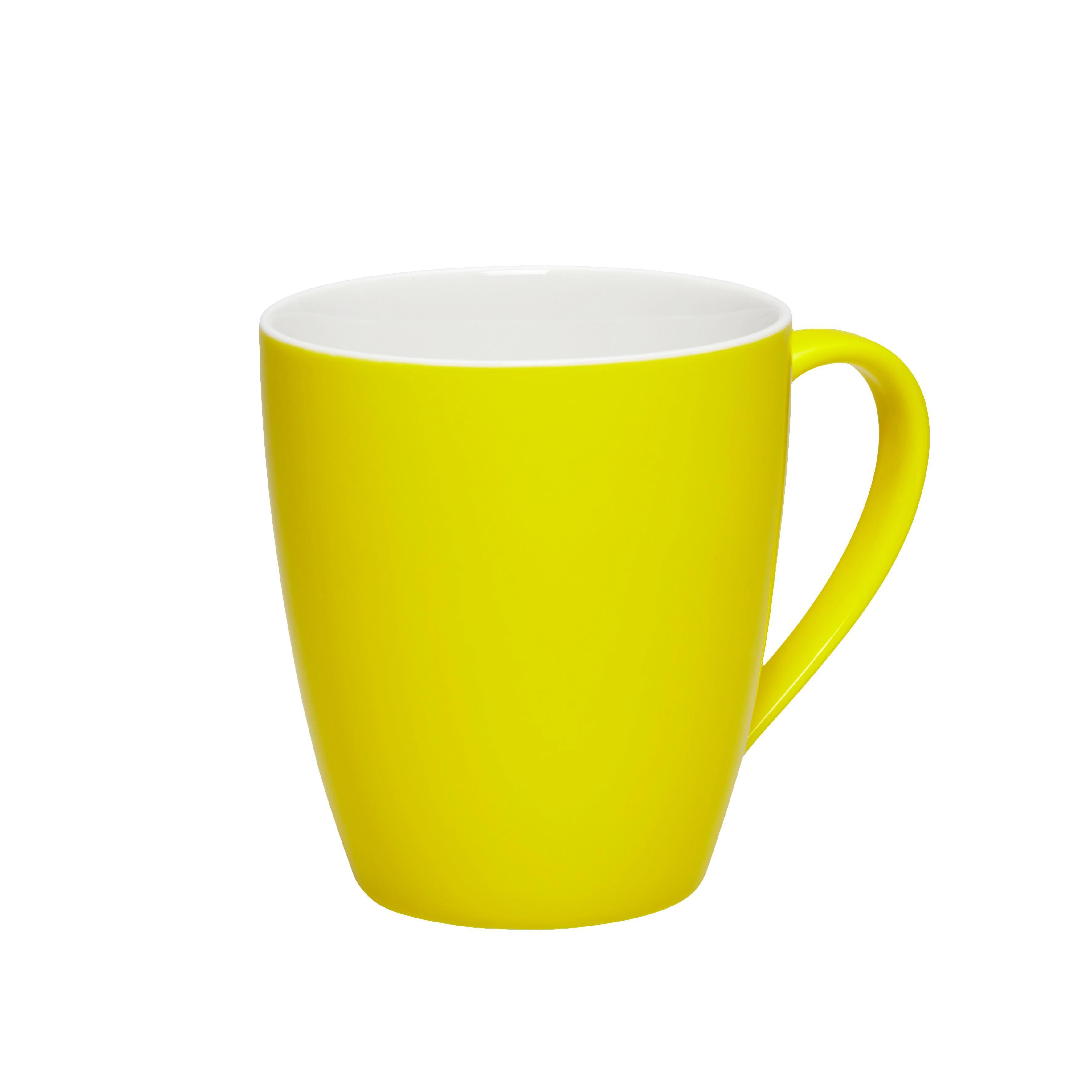 Kávésbögre Sandy - sárga, konvencionális, kerámia (8,9/10cm) - MÖMAX modern living