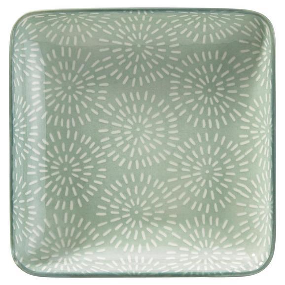 Platte Nina aus Porzellan - Mintgrün, Keramik (12,5cm) - Mömax modern living