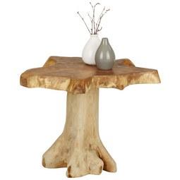 Beistelltisch Natur - Naturfarben, LIFESTYLE, Holz (45/40/45cm) - Modern Living