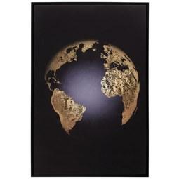 Keilrahmenbild Denise ca. 60x90cm - Goldfarben/Schwarz, Holzwerkstoff/Kunststoff (60/90cm) - Mömax modern living