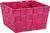 Korb Nelly aus Nylon in Pink - Pink, MODERN, Textil (19/19/11cm) - Mömax modern living