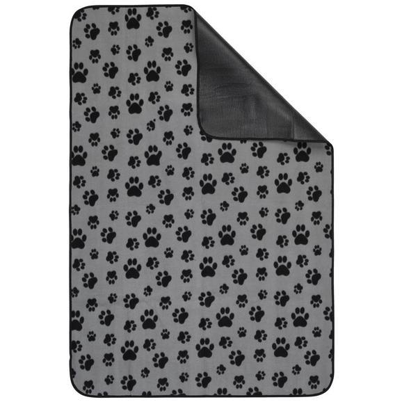 Haustiermatte Lola in Grau/Schwarz - Schwarz/Grau, Textil (100/150cm) - Mömax modern living