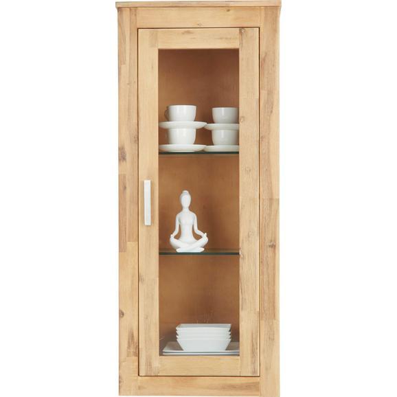 Viseči Element Aruba - srebrna/prozorna, Konvencionalno, kovina/steklo (50/120/35cm)