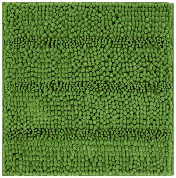 Badematte Uwe Grün 50x50 cm - Grün, Basics, Textil (50/50cm) - Mömax modern living