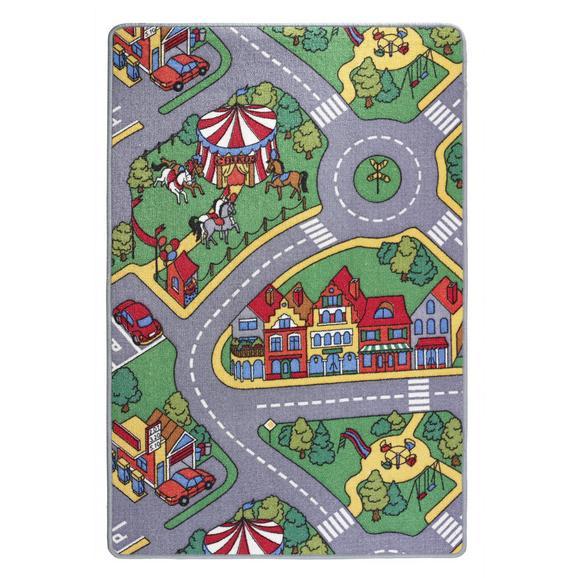 Játszószőnyeg Ralley 80/120 - Textil (80/120cm) - Esposa
