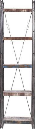 Polc Titan - Sötétbarna, Lifestyle, Fém (55/200/40cm)