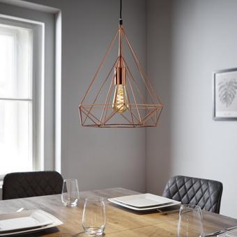 Pendelleuchte Yvonne - Goldfarben, MODERN, Kunststoff/Metall (36/150cm) - Mömax modern living