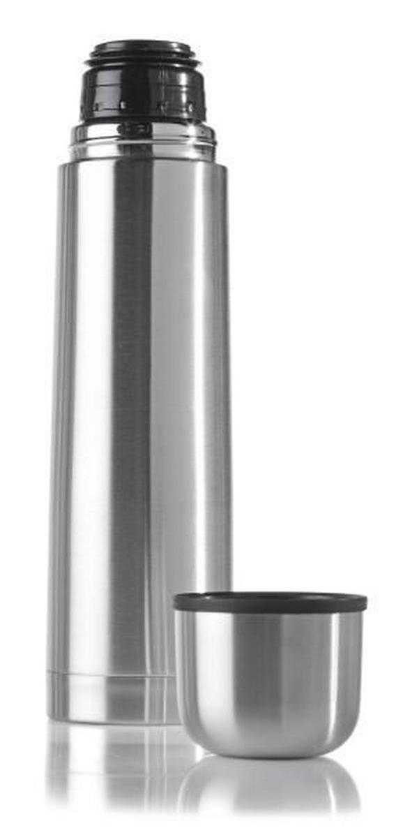 Isolierflasche Silber - Silberfarben, Metall