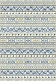 Ravno Tkana Preproga Kelim 3 - naravna/modra, Moderno, tekstil (160/230cm) - Mömax modern living