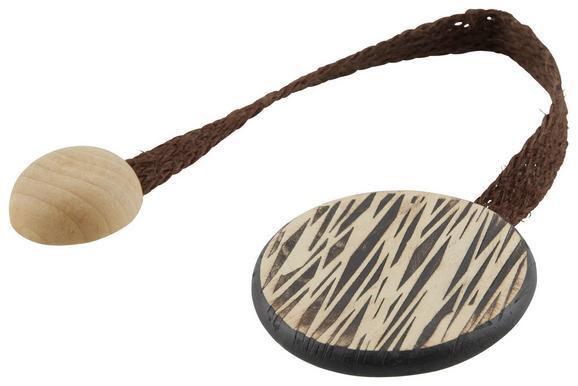 Raffhalter Savanna verschiedene Farben - Braun/Weiß, KONVENTIONELL, Holz (22cm) - Mömax modern living