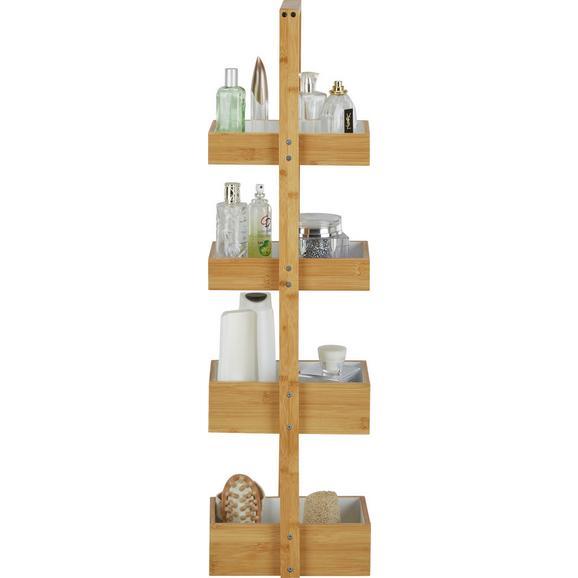 Stoječ Regal Anni - naravna/bela, Moderno, les (25/88/18cm) - Mömax modern living