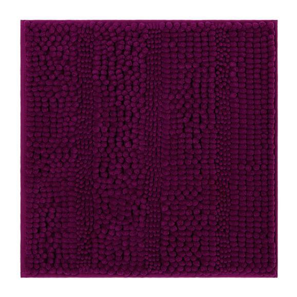 Fürdőszobaszőnyeg Uwe - Magenta, Textil (50/50cm) - Mömax modern living