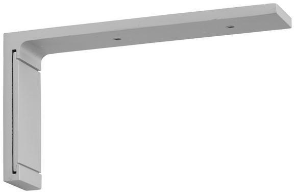 Träger Style Lang Alufarben - Alufarben, Metall (11,5cm) - PREMIUM LIVING