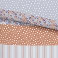 Lenjerie De Pat Dorothea - portocaliu, Romantik / Landhaus, textil (140/200cm) - Modern Living