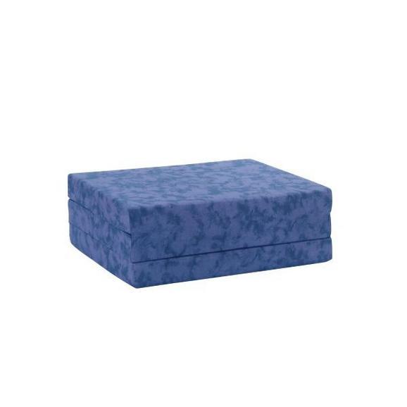 Saltea Pliabilă 80/9/190 Billy - albastru, textil (80/190cm) - Primatex