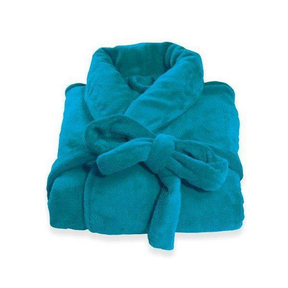 Bademantel Supersoft verschiedene Größen - Grün, Textil (S-XL) - Mömax modern living
