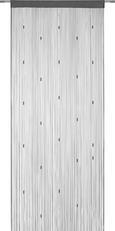 Fadenstore perle verschiedene Farben - Anthrazit/Petrol, ROMANTIK / LANDHAUS, Textil (90/245cm) - Mömax modern living
