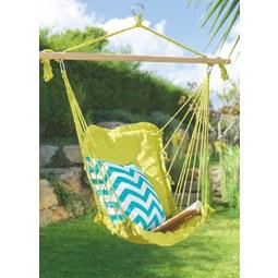 Függőszék Relax - natúr színek/petrol, textil (100/47cm) - MÖMAX modern living