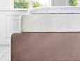 Spannleintuch Elasthan 100x200cm - Naturfarben, Textil (100/200cm) - Premium Living