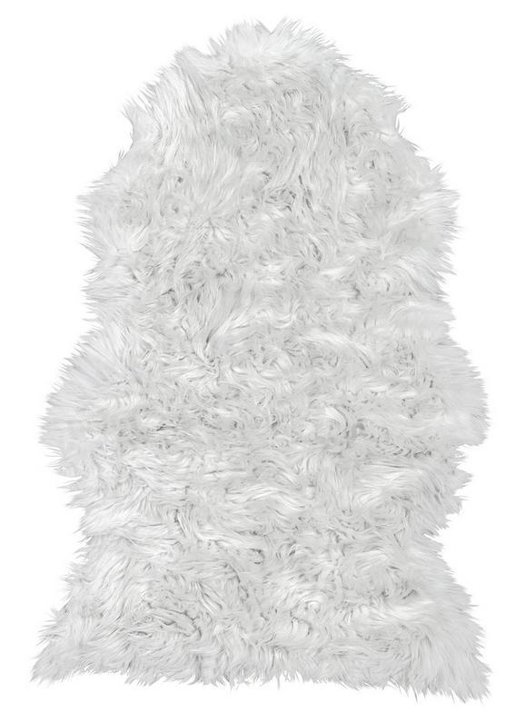Kunstfell Melissa - Weiß, ROMANTIK / LANDHAUS, Textil (60/90cm) - Mömax modern living