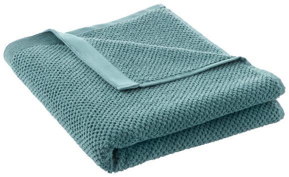 Duschtuch Juliane Petrol - Petrol, Textil (70/140cm) - Premium Living