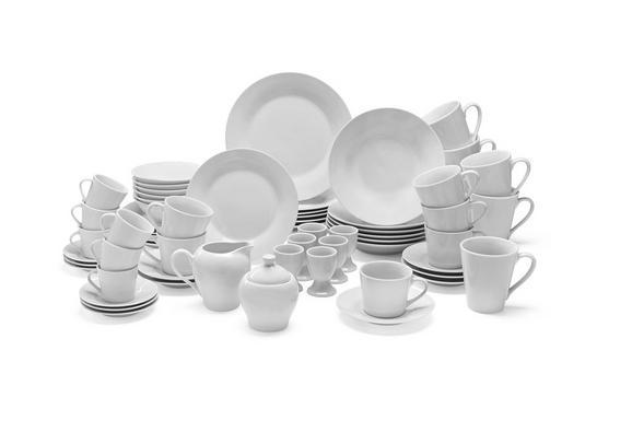 Kombinirani Servis Leonie - bela, keramika - Mömax modern living
