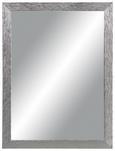 Stensko Ogledalo Clara - srebrna, Moderno, steklo/leseni material (45/60cm)