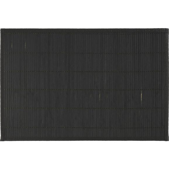 Étkezőalátét ASIA - Fekete, Fa (30/45cm) - Mömax modern living