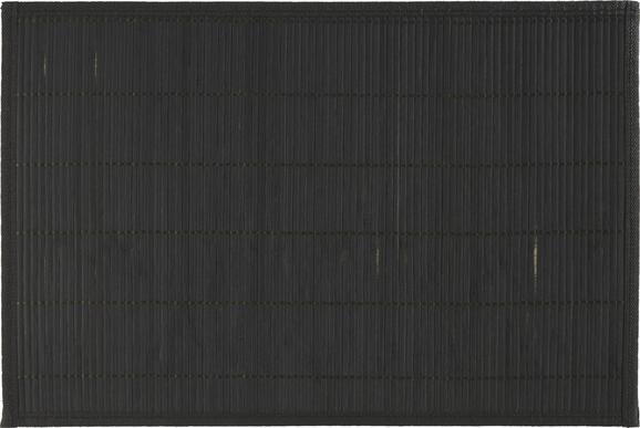 Tischset Asia Schwarz - Schwarz, Holz (30/45cm) - Mömax modern living
