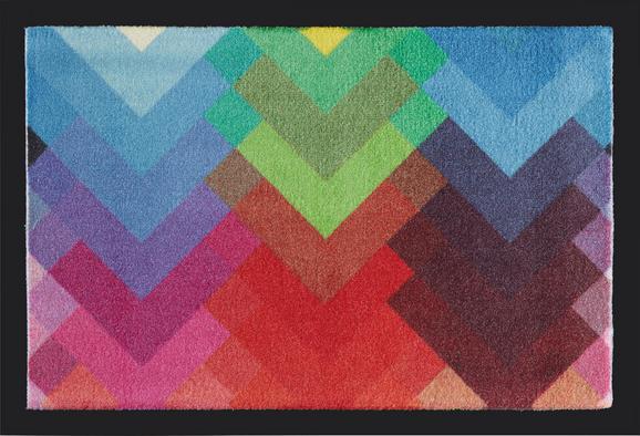 Fußmatte Summit in Bunt, ca. 40x60cm - Blau/Lila, MODERN, Textil (40/60cm) - Mömax modern living