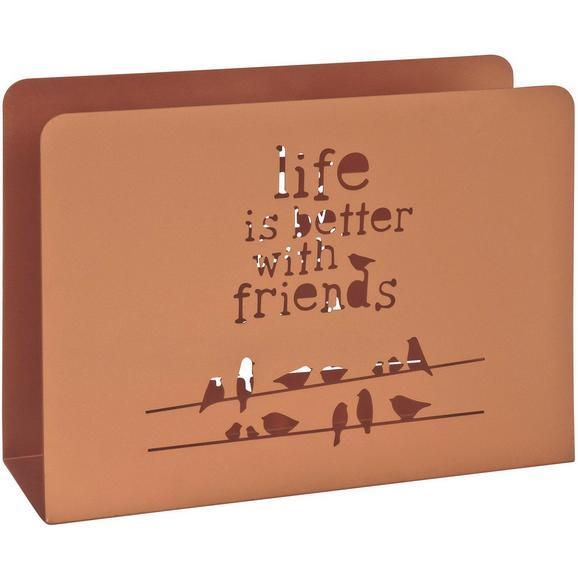 Stojalo Za Časopise Life Baker -sb- - baker, Trendi, kovina (35/26/10cm)