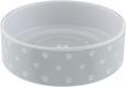 Futternapf Patty in Weiß/Grau - Weiß/Grau, Keramik (18/5,5cm) - Mömax modern living