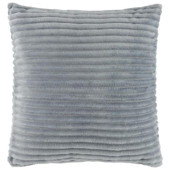 Zierkissen Cord, ca. 45x45cm - Beige/Schwarz, Textil (45/45cm) - Mömax modern living
