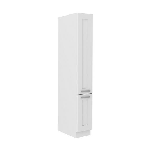 Corp Înalt Luisa - alb, Konventionell, compozit lemnos (30/200/57cm)