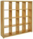 Predelna Stena Aron - aluminij/hrast, Moderno, umetna masa/leseni material (154/157/35cm) - Mömax modern living