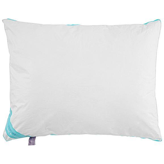 Pernă Cu 3 Camere Wellness - alb, textil (70/90cm) - Nadana