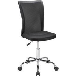 Vrtljivi Stol Surf - črna, Moderno, kovina/umetna masa (42/88-98/58,50cm) - Based