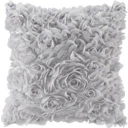 Okrasna Blazina Rosalinde - srebrna, Romantika, tekstil (40/40cm) - MÖMAX modern living