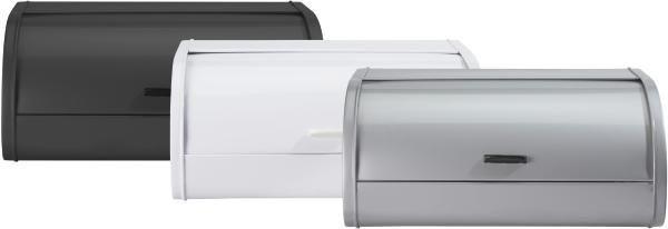 KENYÉRTARTÓ DAGMAR - fekete/ezüst színű, fém (40cm)