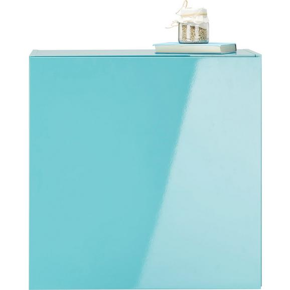 Viseča Omara Match Turkizna - svetlo modra, Moderno, leseni material (60/60/34cm) - Mömax modern living