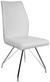 Stuhl Weiß - Chromfarben/Weiß, MODERN, Textil/Metall (45,5/96/60cm) - Mömax modern living