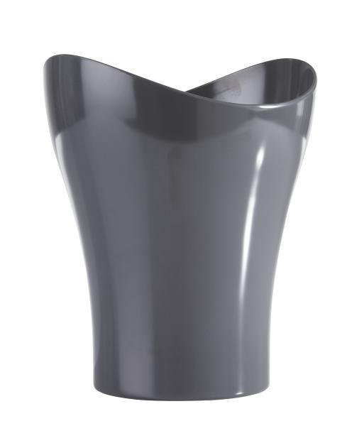 Kosmetikeimer Bella in Grau - Grau, KONVENTIONELL, Kunststoff (23,47/27,86cm) - Mömax modern living